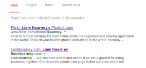 Liam Kearney 30 Day Challenge to rank number 1 on Google. Day 7